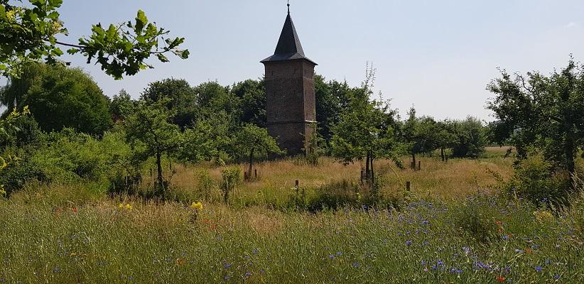 Ik maakte een wandeling, een trage tocht door het Dommdal bij Liempde bij