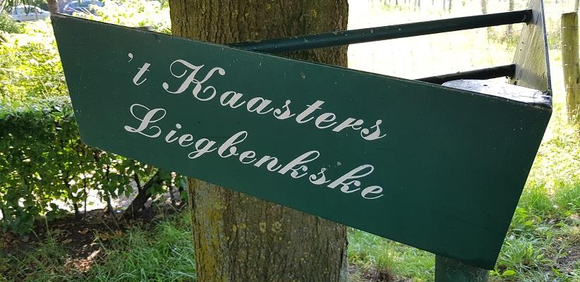 Wandeling over een trage tocht door het Dommeldal bij Liempde bij Kaasters Liegbenkske