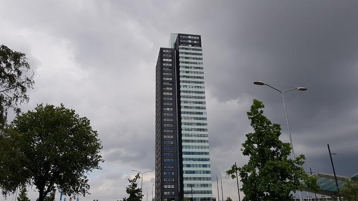 Wandeling over het Woenselpad van Gegarandeerd Onregelmatig buiten de binnenstad van Eindhoven bij Porthos