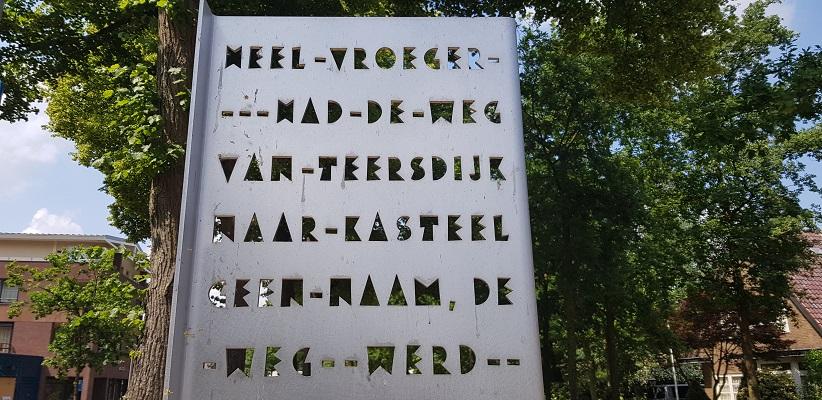 Ik maak een wandeling met de gids van Gegarandeerd Onregelmatig Buiten de binnenstad van Nijmegen over het Wijchenpad bij kasteel Wijchen