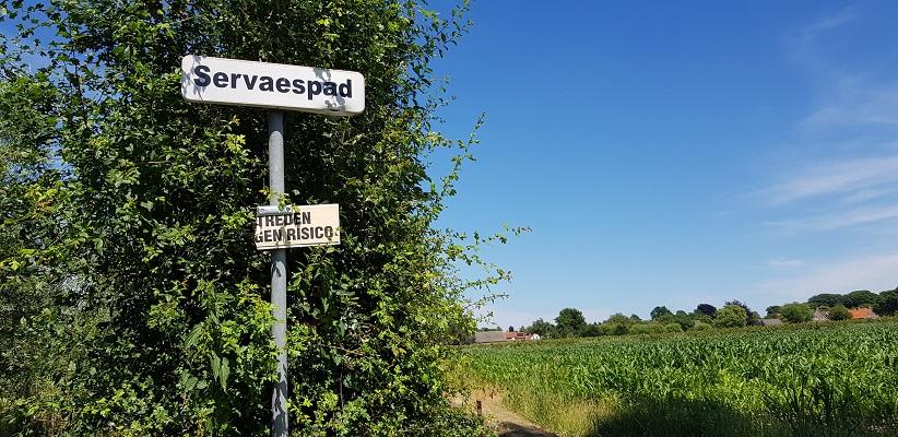 IVN-wandeling Ommetje Laverdonk Dinther op het Servaespad