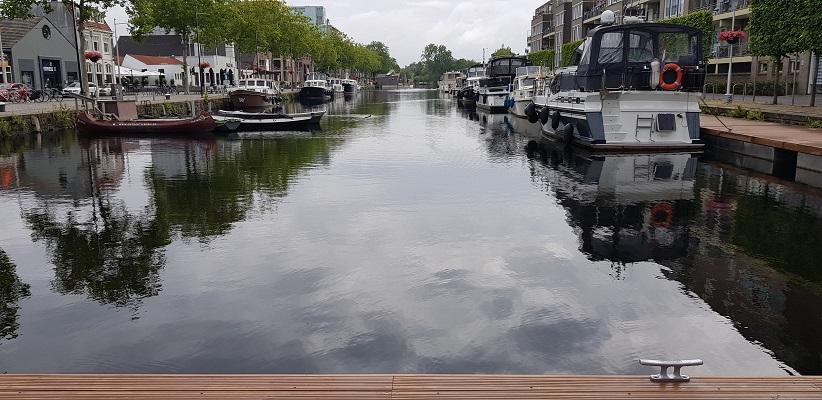 Wandeling NS-wandeling Spoorzone Tilburg bij Piushaven