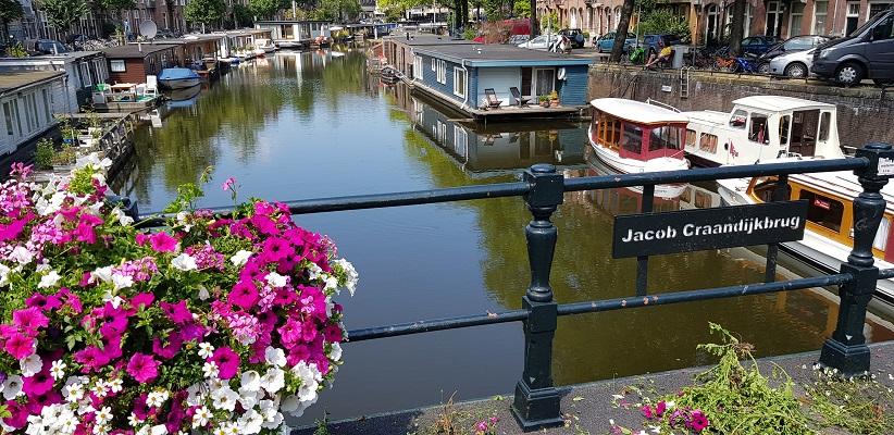 Wandeling door de binnenstad van Amsterdam in Oud-West