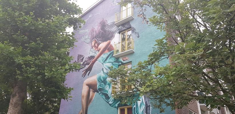 Wandelen buiten de binnenstad van Amsterdam van Gegarandeerd Onregelmatig