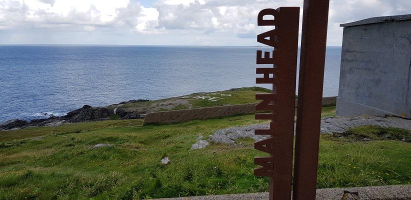 Wandeling naar Malin Head, het noordelijkste puntje van Ierland.