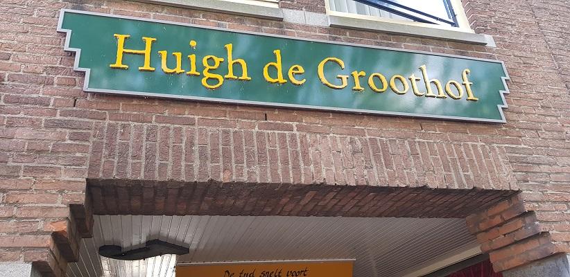 Wandelen in Delfland in Centrum Delft bij Huigh de Groothof