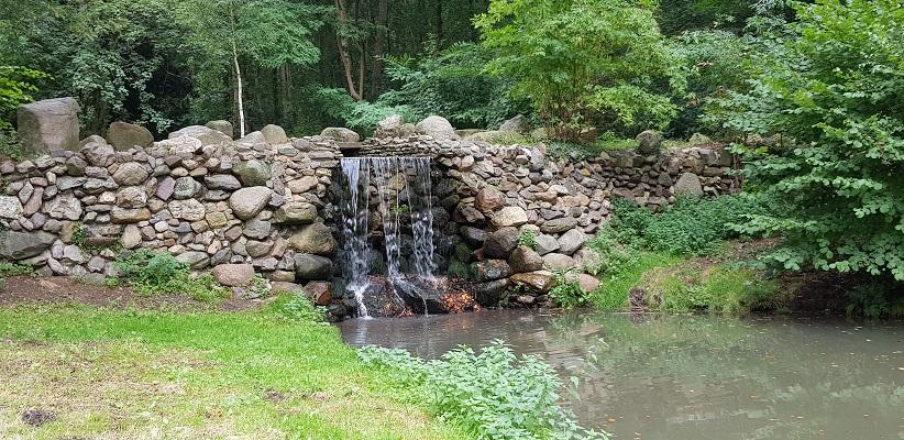 Waterval in landgoed Mariëndal Oosterbeek