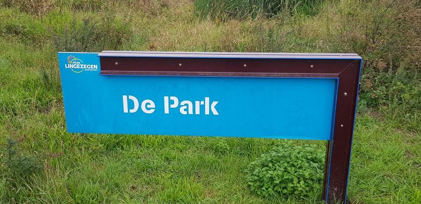 Wandelen buiten de binnenstad van Arnhem van Gegarandeerd Onregelmatig over het Vinexpad bij de Park