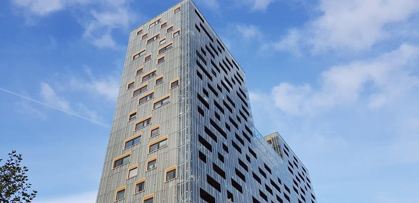 Hoogbouw Rotterdam tijdens wandeling Creative Crosswalks Rotterdam