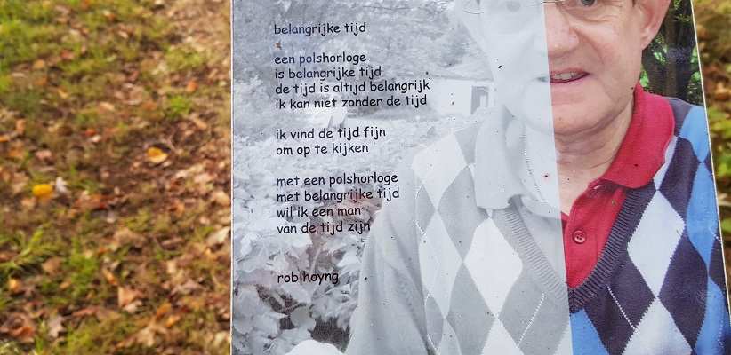 Gedicht Bronlaak op gedichtenroute
