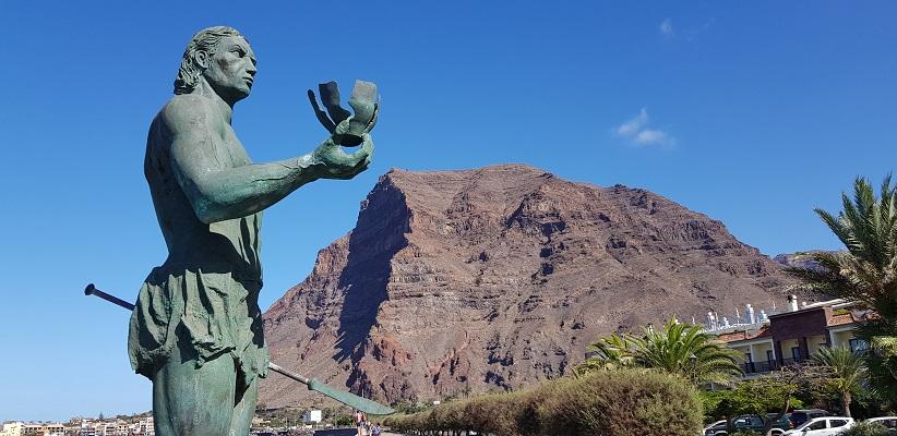 Wandeling door buurtschappen Borbolan, Vueltas en La Calera op canarisch eiland La Gomera