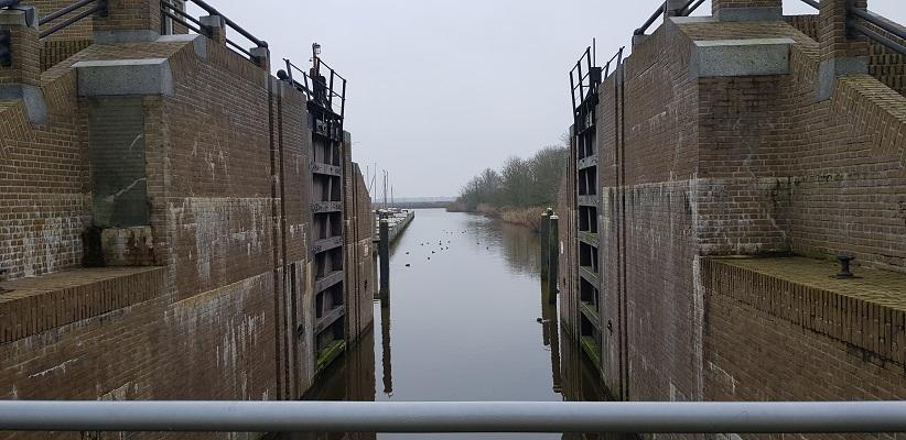 Wandeling over het Friese Woudenpad van Lauwersoog naar Ezumazij