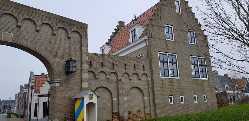 Wandeling over het Friese Woudenpad van Lauwersoog naar Ezumazijl in Esonstad