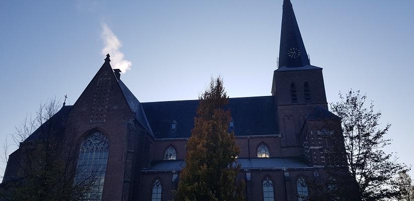 Wandeling in Deurne over het Tuinpad van mijn vader bij de Willibrorduskerk