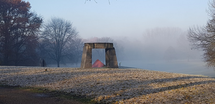 Wandeling over het Dijkenpad in Arnhem van Gegarandeerd Onregelmatig in het park Immerloo