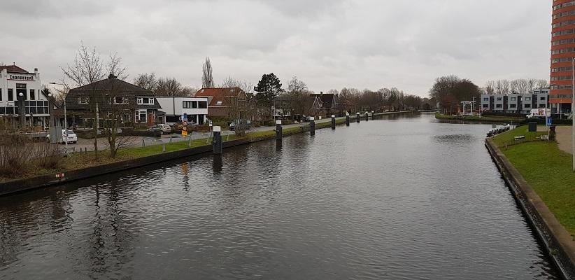 Wandeling over het Romeinse Limespad van Leiden naar Voorburg bij het Rijn-Schiekanaal