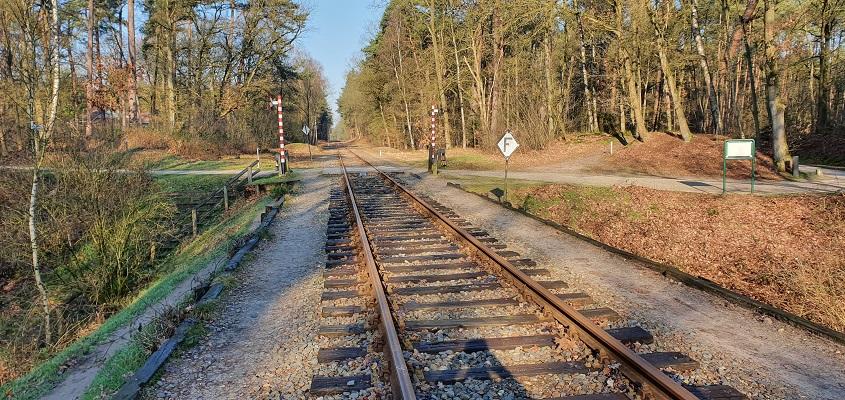 Wandeling over Trage Tocht Loenen bij spoorlijn Dieren-Apeldoorn