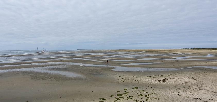 Wandeling op Terschelling van Midsland aan Zee naar West bij de Noordsvaarder