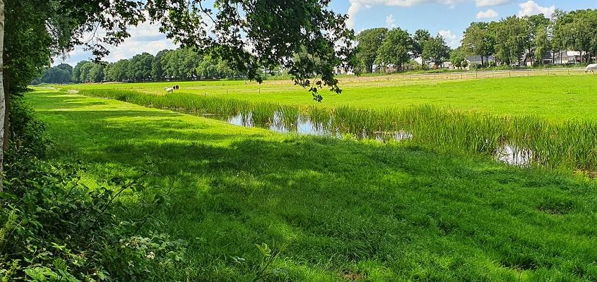 Wandeling over Trage Tocht Hilversum langs het Tienhovens Kanaal