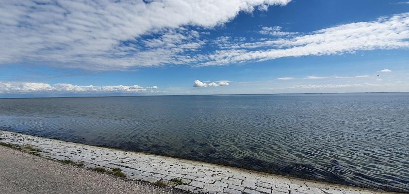 Wandeling op Terschelling van West naar Hoorn bij de Waddenzee