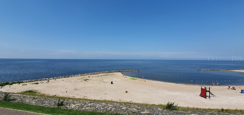 Wandeling op Urk langs het IJsselmeer
