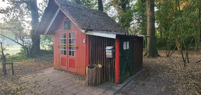 Wandeling over Andreas Schotel wandelroute in Esbeek bij de Schuttel