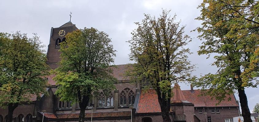 Trage Tocht Spoordonk bij de kerk van Spoordonk
