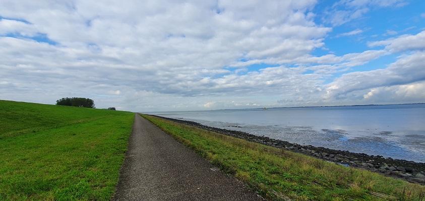 Wandeling over het Grenslandpad van Kloosterzande naar Terneuzen langs de Westerschelde