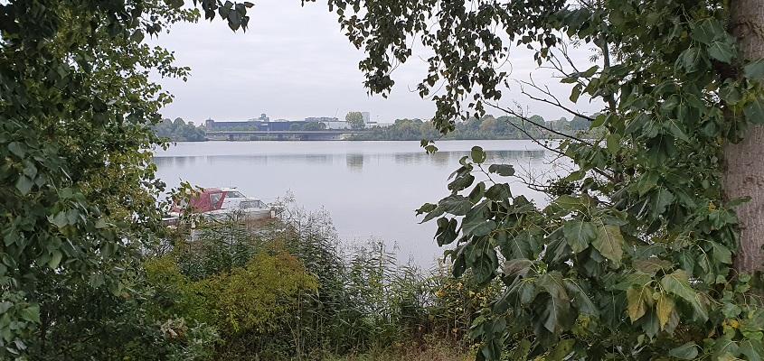 Wandeling in de omgeving van Den Bosch, Haverleij en Engelermeer, bij de Ertveldplas