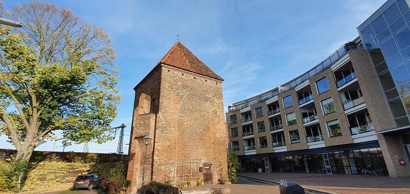 Wandeling over Stadse Trage Tocht Zutphen bij de Kruittoren