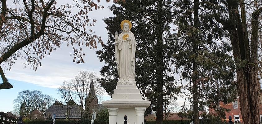 Wandeling over ommetje Sint Hubert v