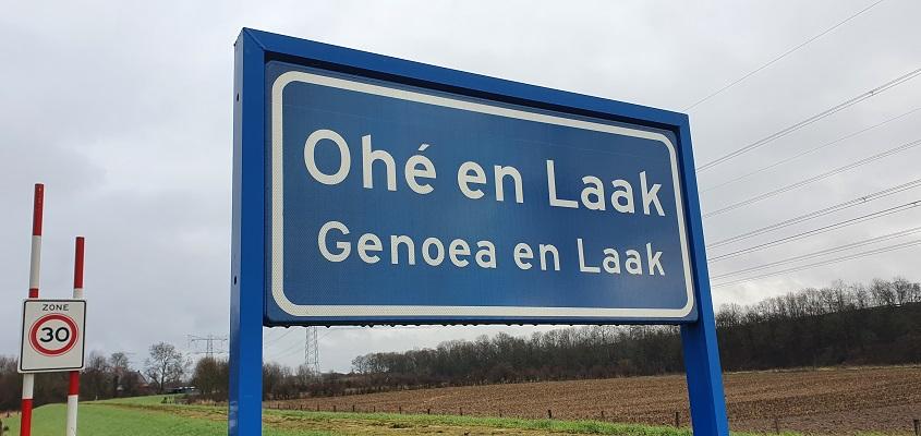 Wandeling over Trage Tocht Stevensweert in Ohé en Laak