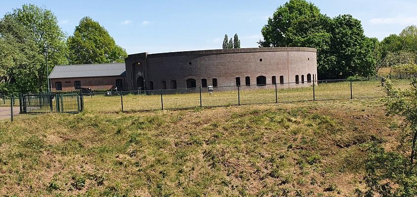 Wandeling over Trage Tocht Den Bosch bij Fort Orthen