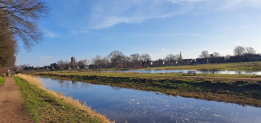 Wandeling over Trage Tocht Mill langs het Peelkanaal