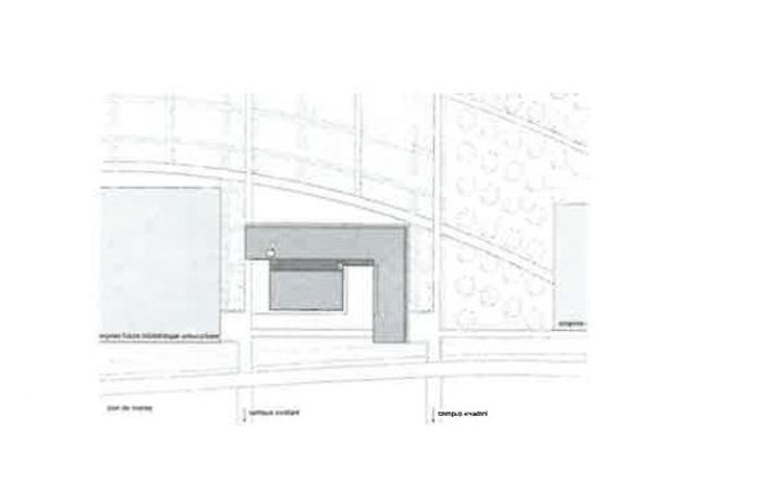 Plan de masse : Bâtiment universitaire, Philippe Challes