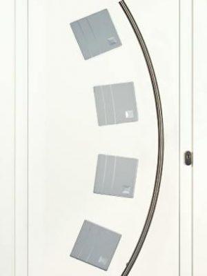 AMC Fenêtres : porte aluminium gaia
