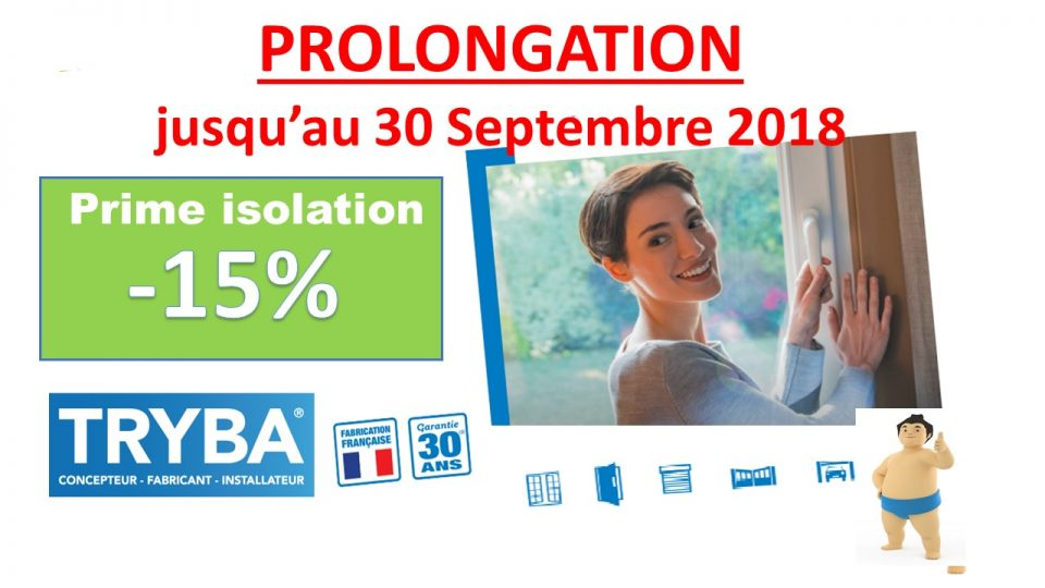 Prolongation Septembre