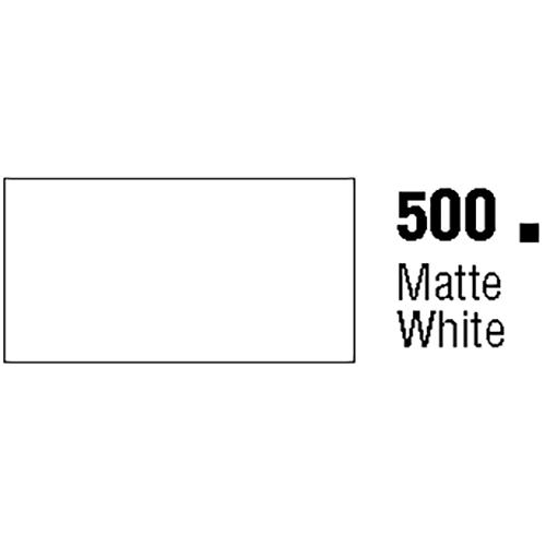 General Formulations 500-48 Matte White Glossy Vinyl