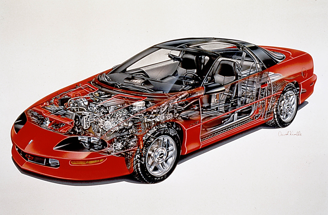 1999 Chevrolet Camaro Z28 Ss Engine Diagram Car Parts Diagram