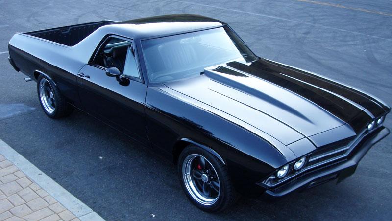 Hd Flat Black Muscle Car Wallpapers 1969 El Camino Amcarguide Com American Muscle Car Guide