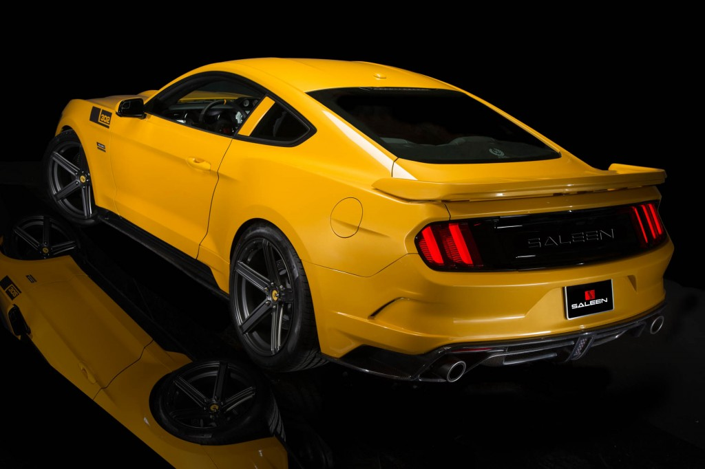 2015 Mustang Saleen S302 Black Label  AmcarGuidecom  American muscle car guide