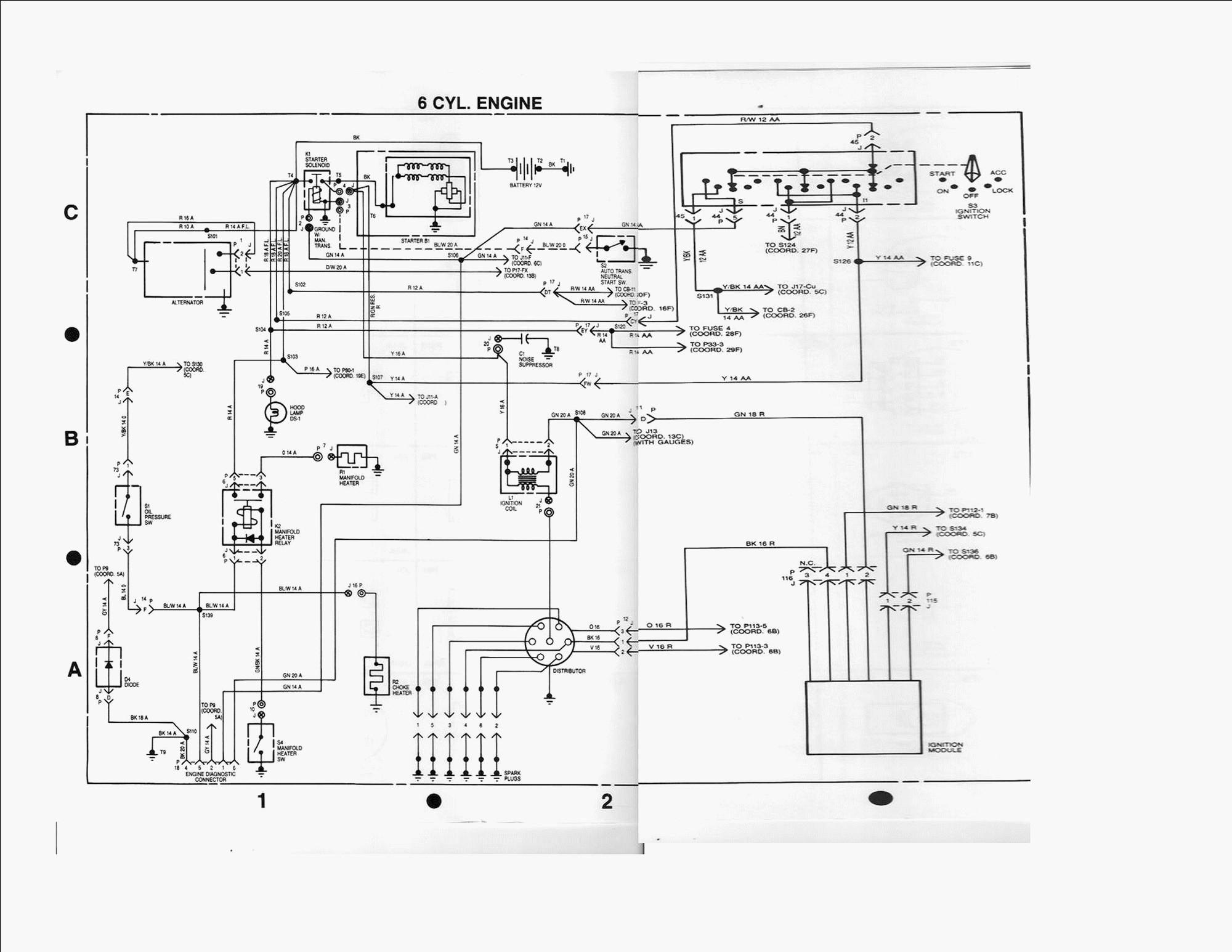 1984 International Eagle Wiring Schematics : 42 Wiring