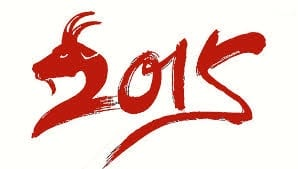 Lunar New Year 2015 Year of the Goat