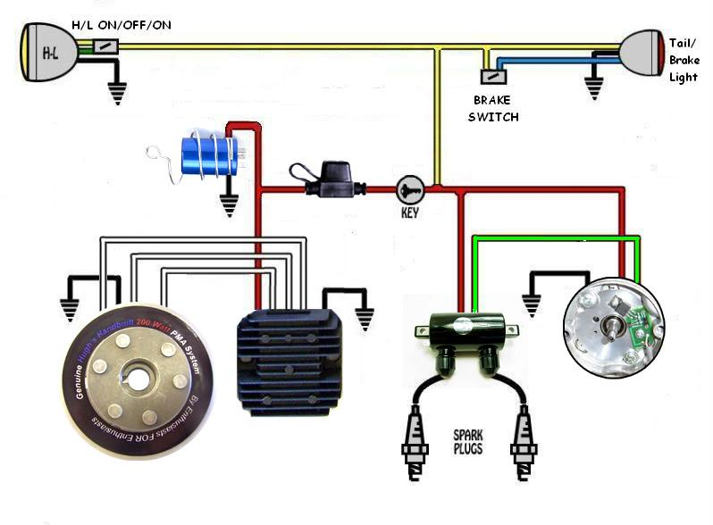 yamaha 650 wiring diagram er one to many relationship xs schematic 1975 xs650 motorcycle coil databasepma