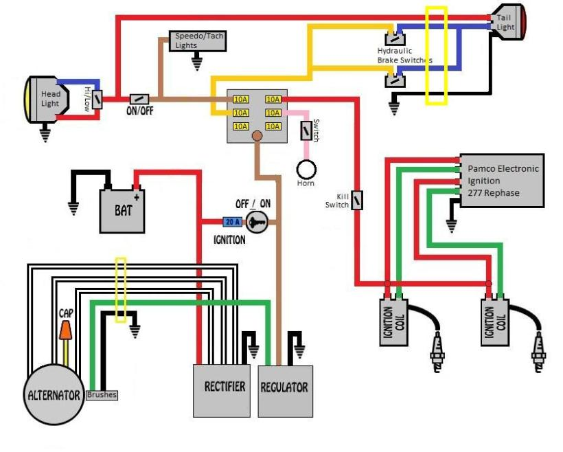 1981 Xs650 Rephased Wiring Diagram - Wiring Diagrams Dock