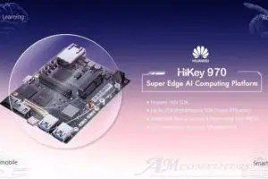 HiKey 970 dev board con Kirin 970 in stile Raspberry Pi