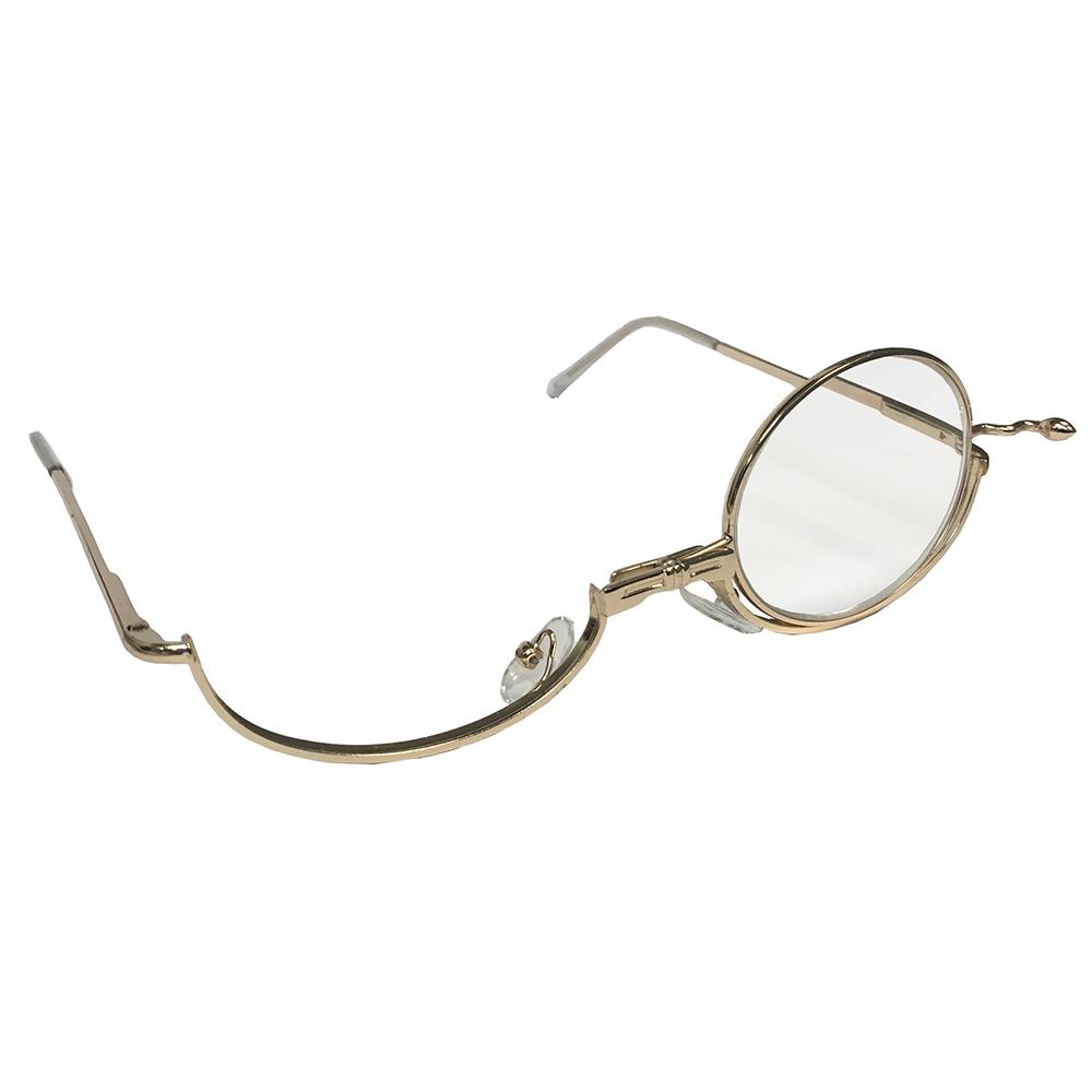 Makeup Reader with Flip Lens: Reading Glasses: Optical