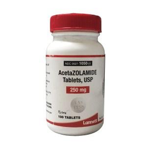 Acetazolamide: Glaucoma: Pharmaceuticals
