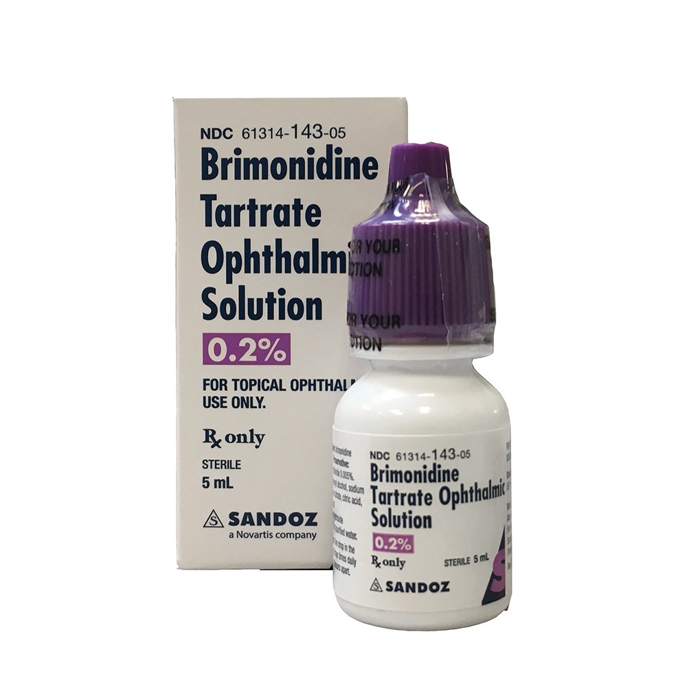 Brimonidine Tartrate by Sandoz