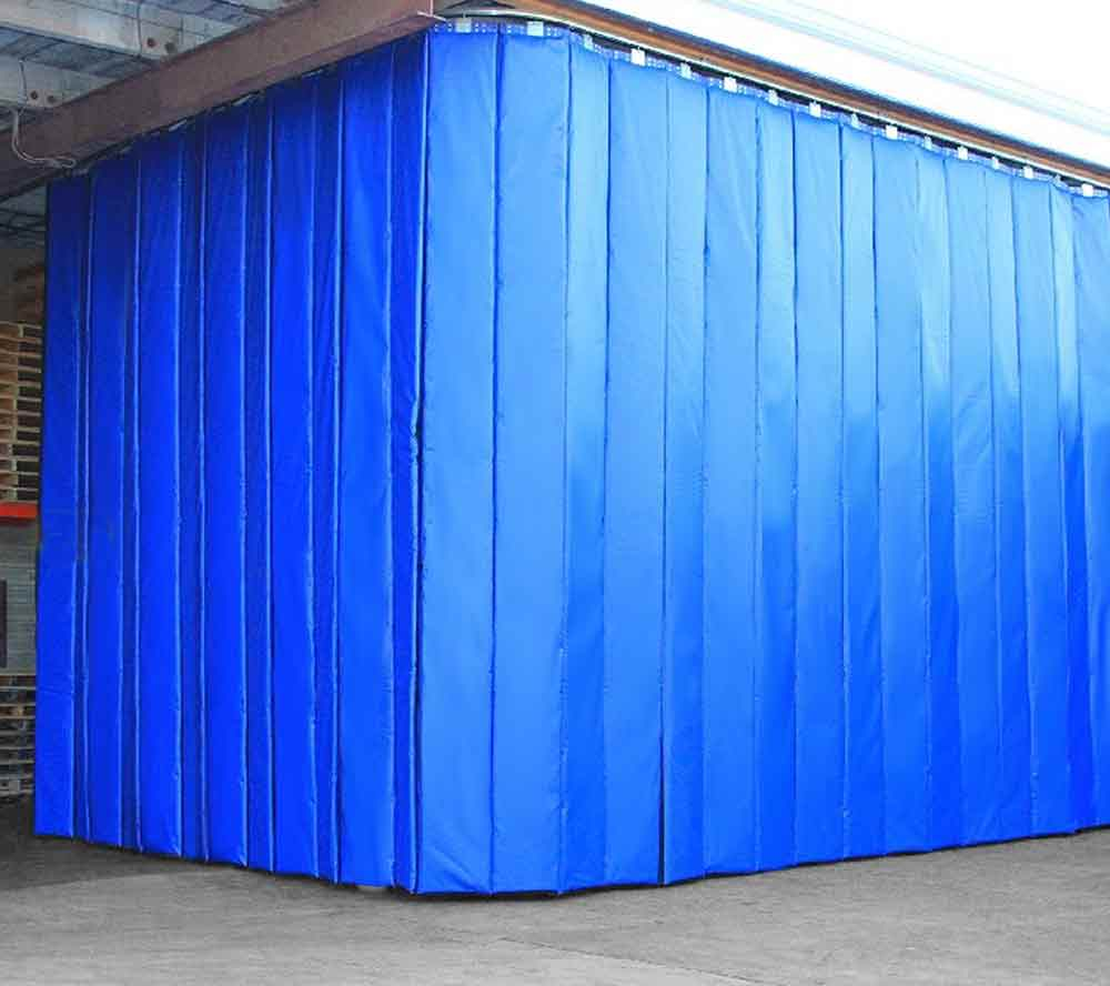 Industrial Curtains  Divider Walls Enclosures  Partitions